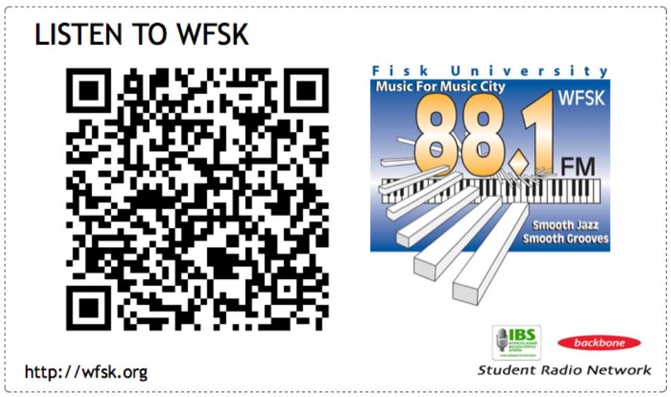 College Radio QR Code